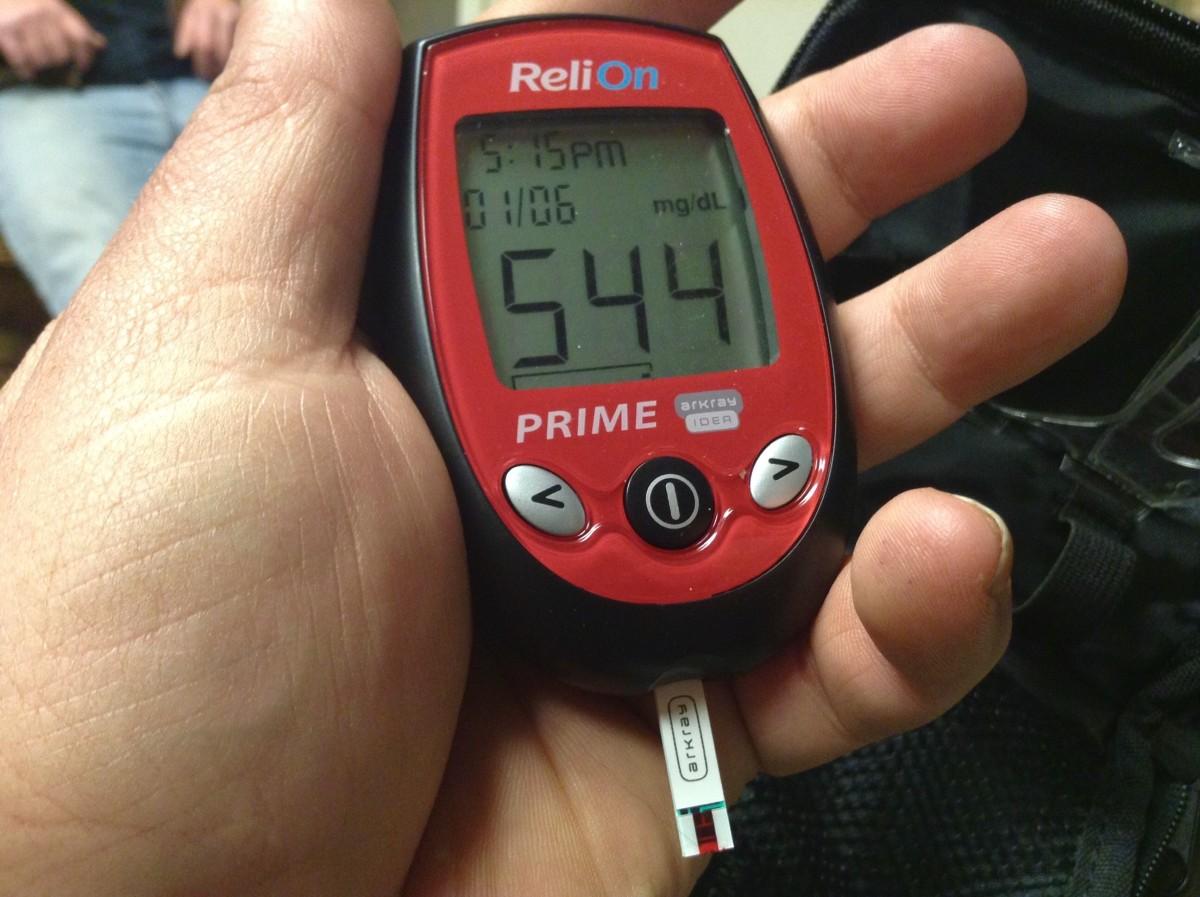 vércukorszint mérés